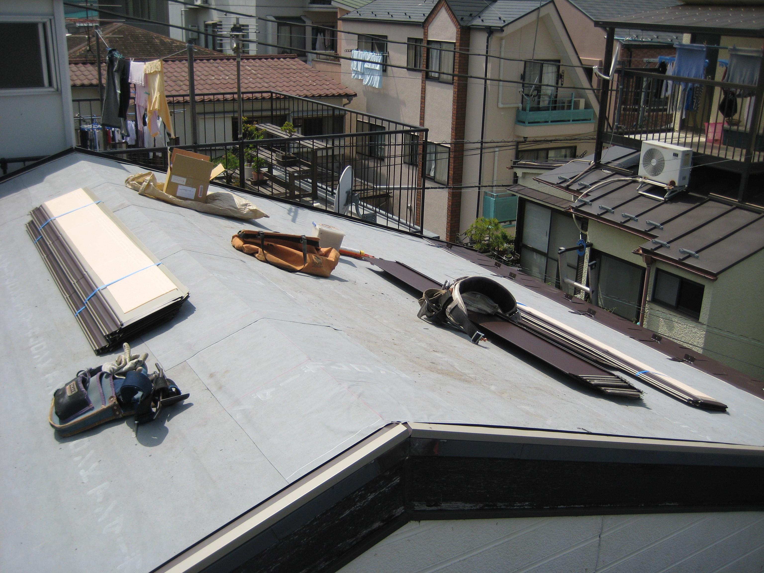 屋根塗装・改修